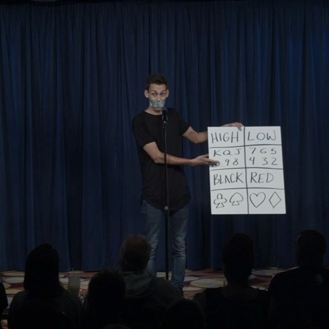 """Duct Tape"" on sale for 24 hours. Normally $500, on sale for $300. Link to shop in bio. This is my favorite opener of all time for ANY venue and ANY audience. Swipe through to see the full performance. This routine allows you to literally have any one of 52 options in your mouth! Get it now while it's on sale for the next 24 hours. The price has been lowered on the shop so no discount is needed. 👍🏼😎👍🏼 This was performed at and recorded by the amazing @comedyandmagicclub in Hermosa Beach. Check them out! #magic #magician #magictrick #cardtrick #ducttape #blakevogt #learnmagic #comedy"