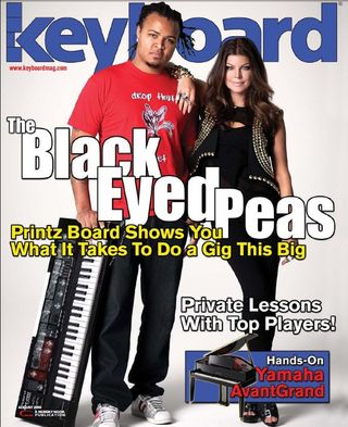August 2010 issue of Keyboard Magazine