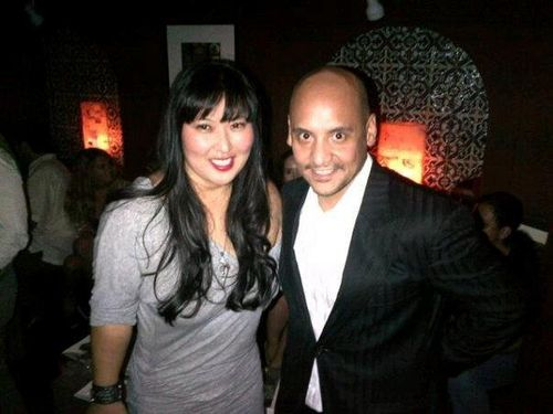 Helen Yu and BEP Manager Polo Molina