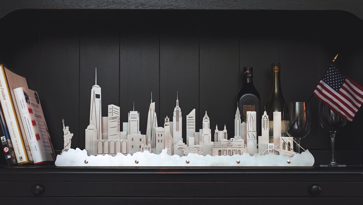 We would love to create your favorite city - with your home or business incorporated into the skyline.