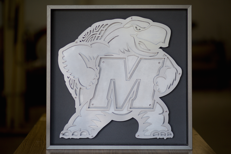 Stainless Steel Custom Business Signage