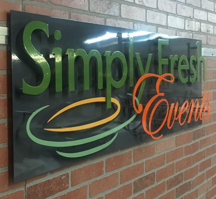Simply Fresh - Custom Metal Sign.JPG