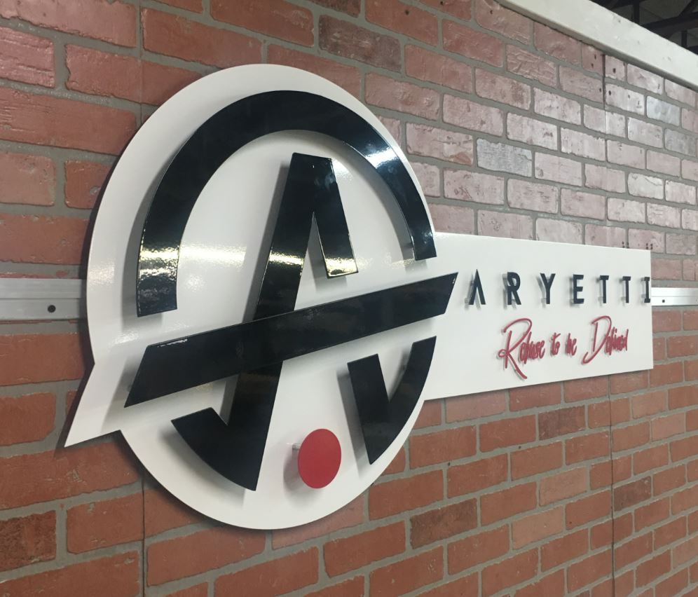 Aryetti - Custom Metal Sign.JPG