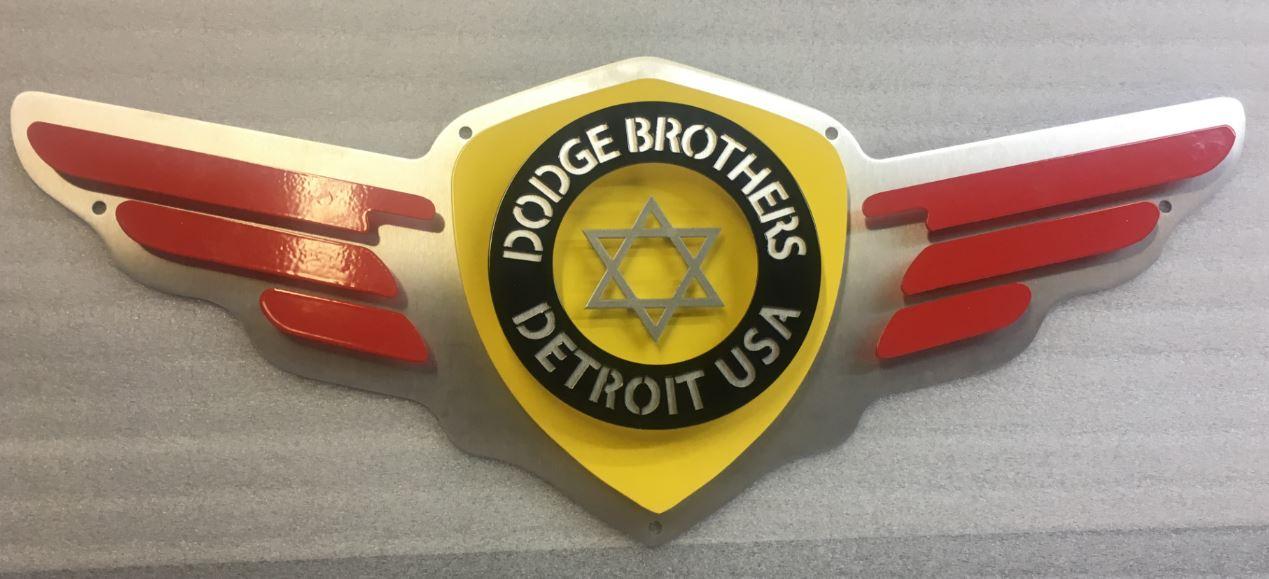 Dodge Brothers - Custom Metal Sign.JPG