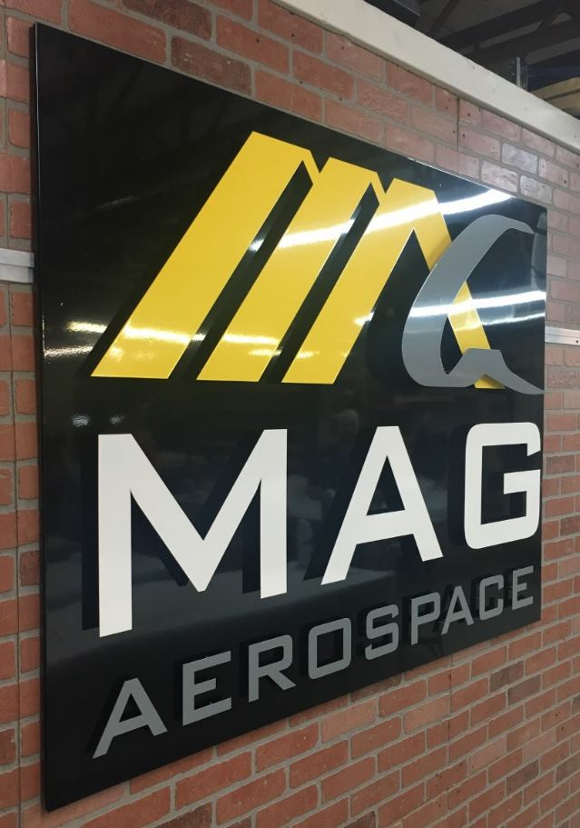 MAG Aerospace - Custom Metal Sign.JPG