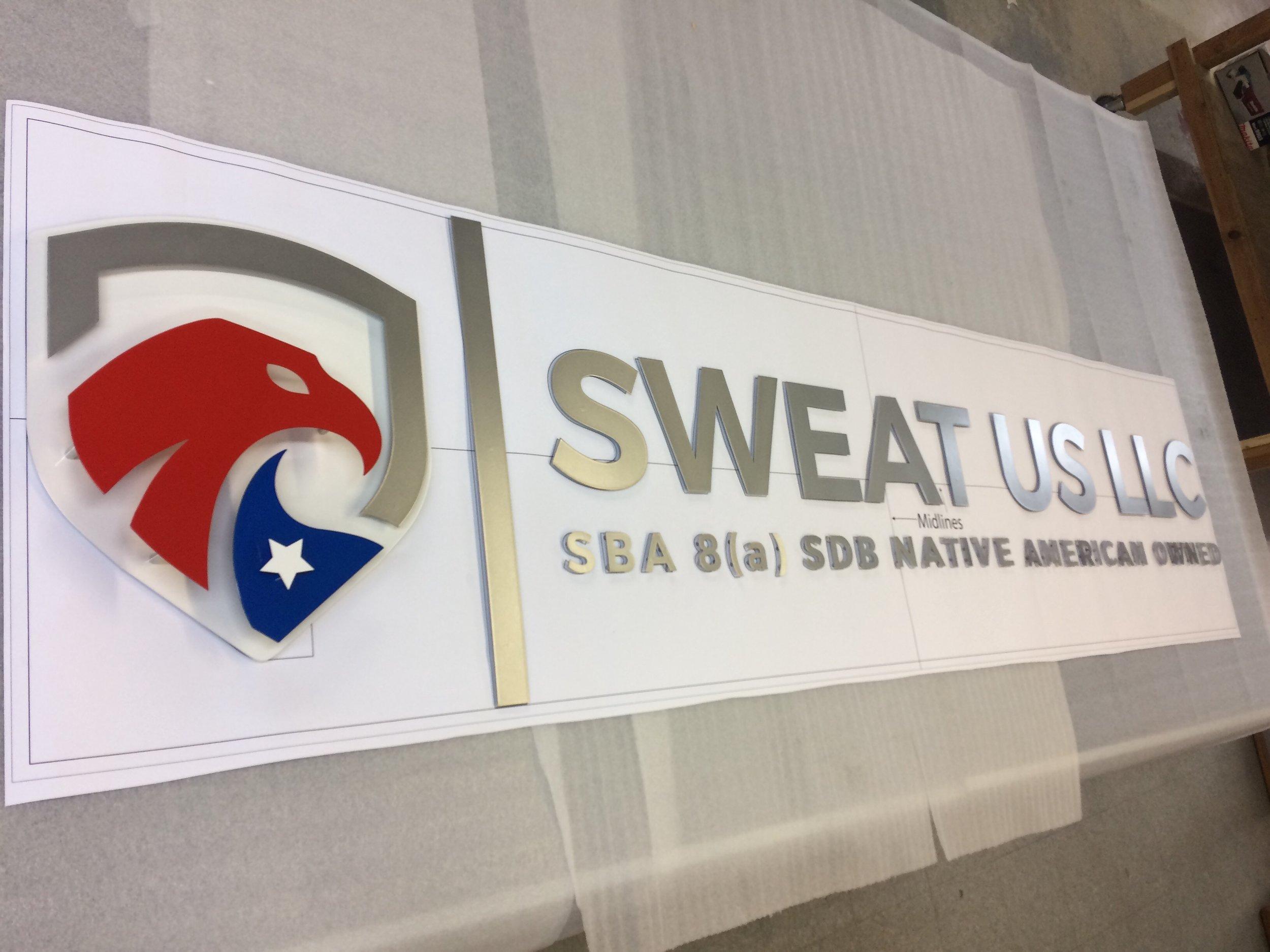 Custom Metal Sign-Sweat Us LLC-left.JPG
