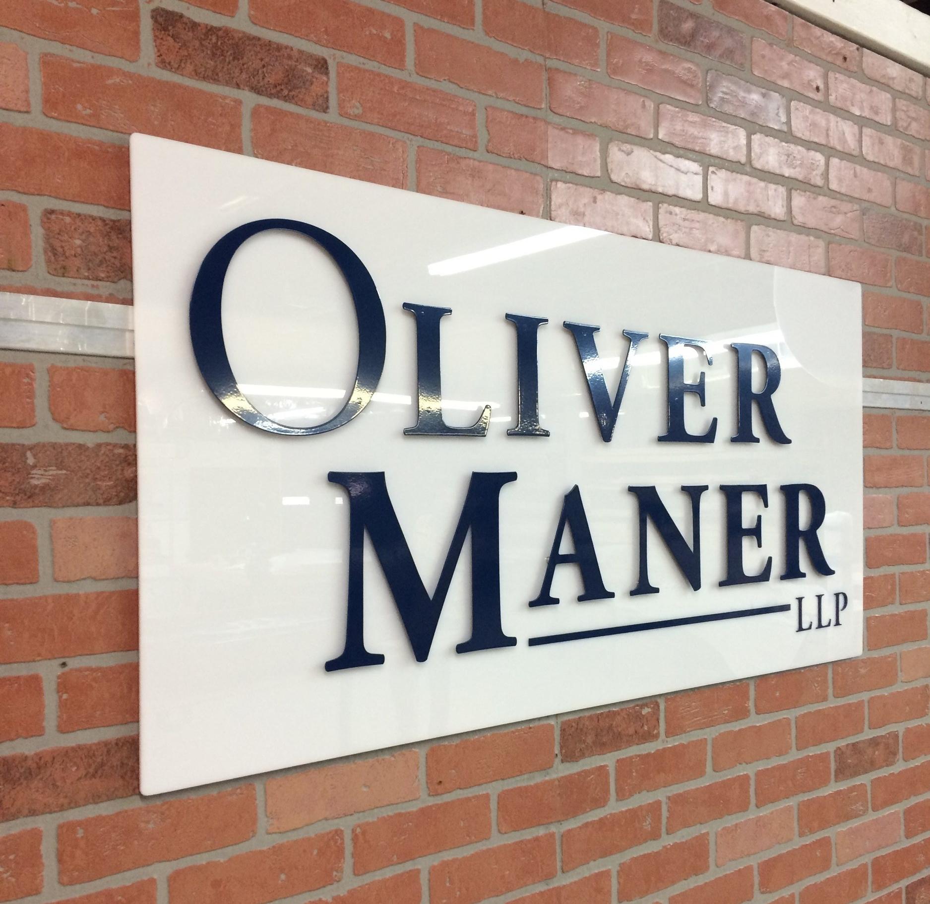 Custom Metal Sign-Oliver Maner-left.JPG