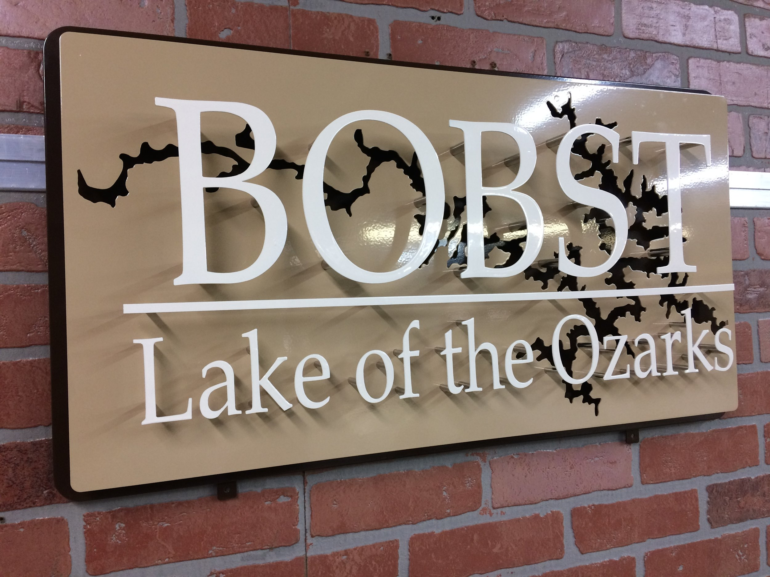 Custom Metal Sign-Lake of the Ozarks-left.JPG