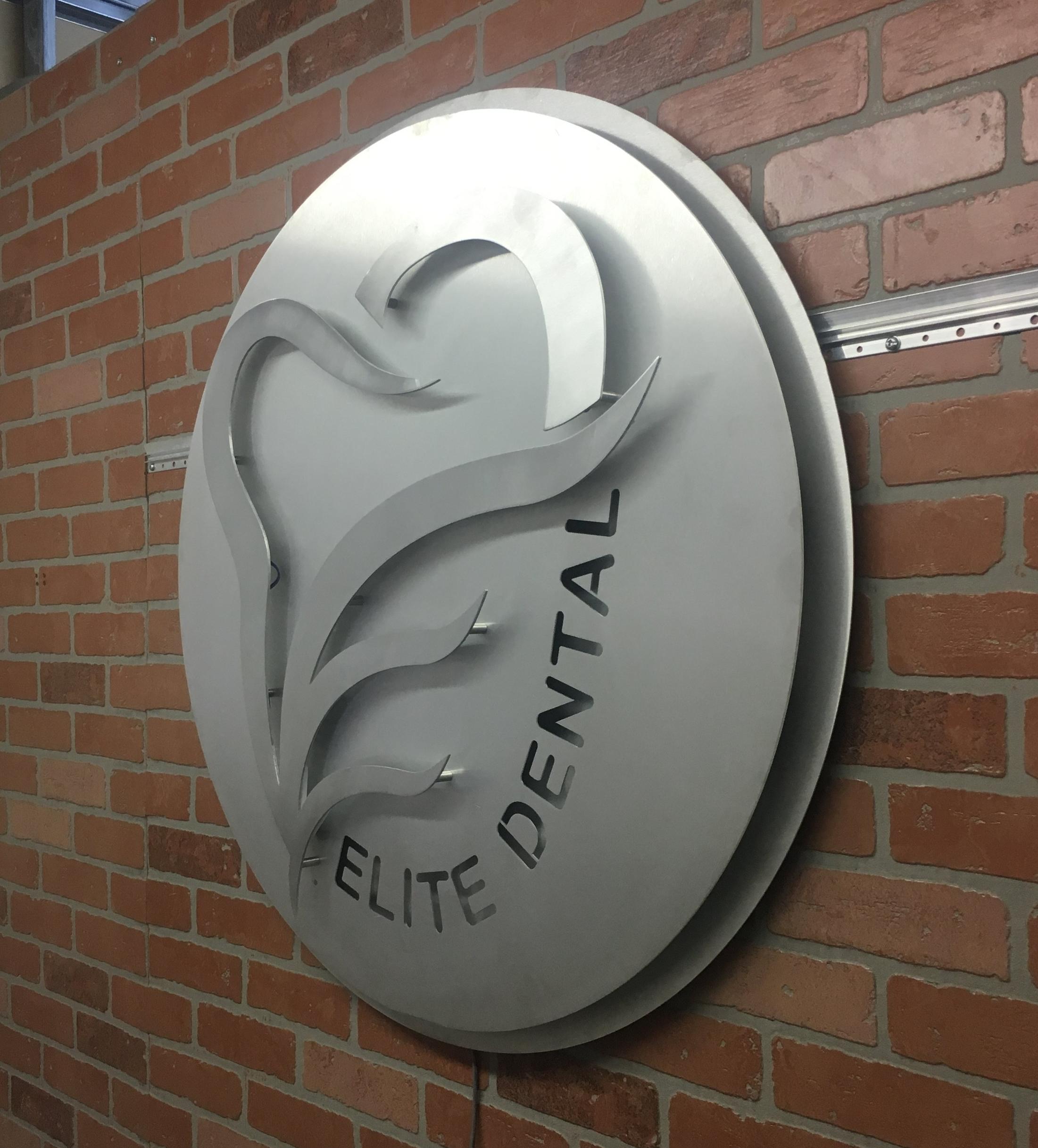 Custom Metal Sign-Elite Dental-Right.JPG
