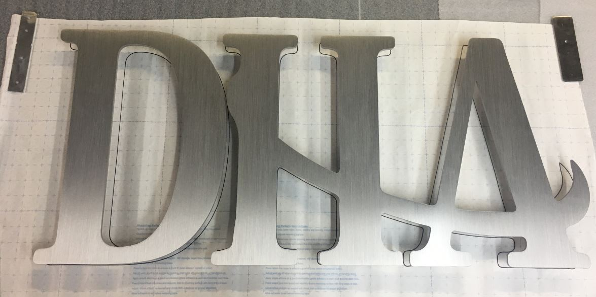 1 - Aluminum - Custom Metal Sign - DHA (snip).JPG