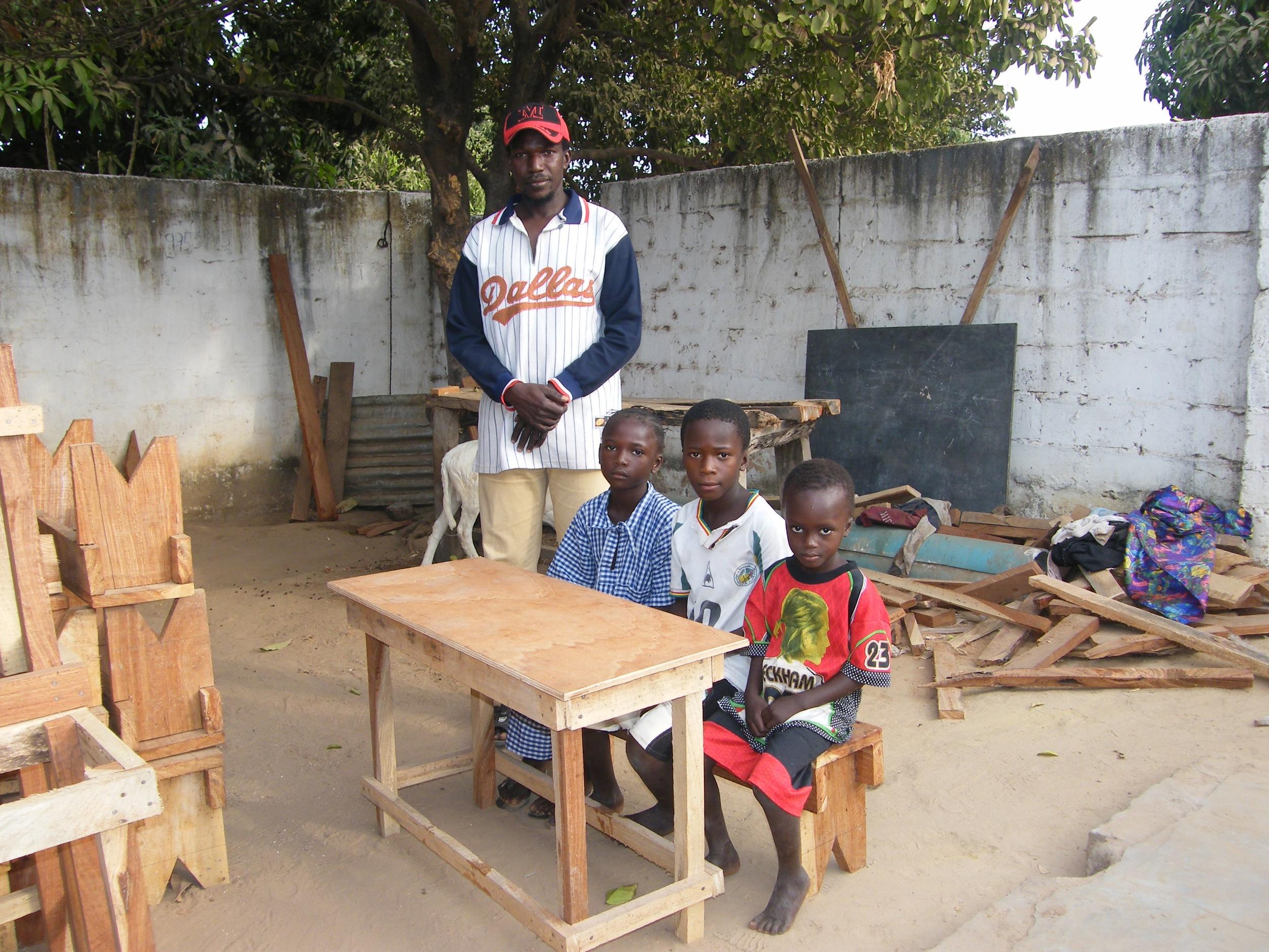 The village carpenter and his children