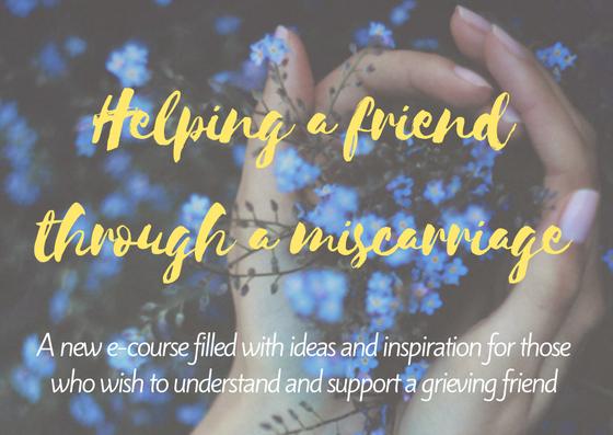Helping a Friend Through a Miscarriage