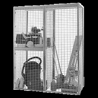 Storage Locker Installation
