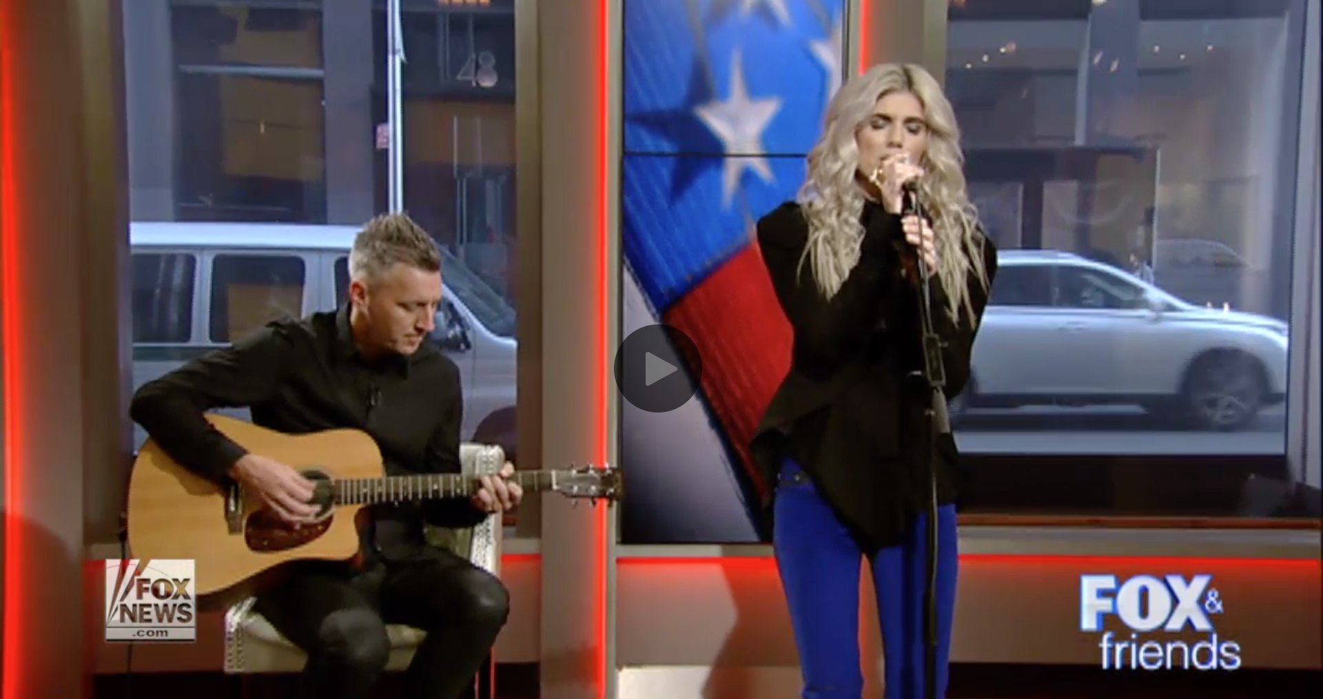 "Interview and performance of ""Alive"" on FOX & Friends' After the Show Show."