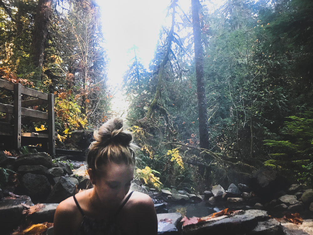 Portland, Oregon - Cougar Hot Springs