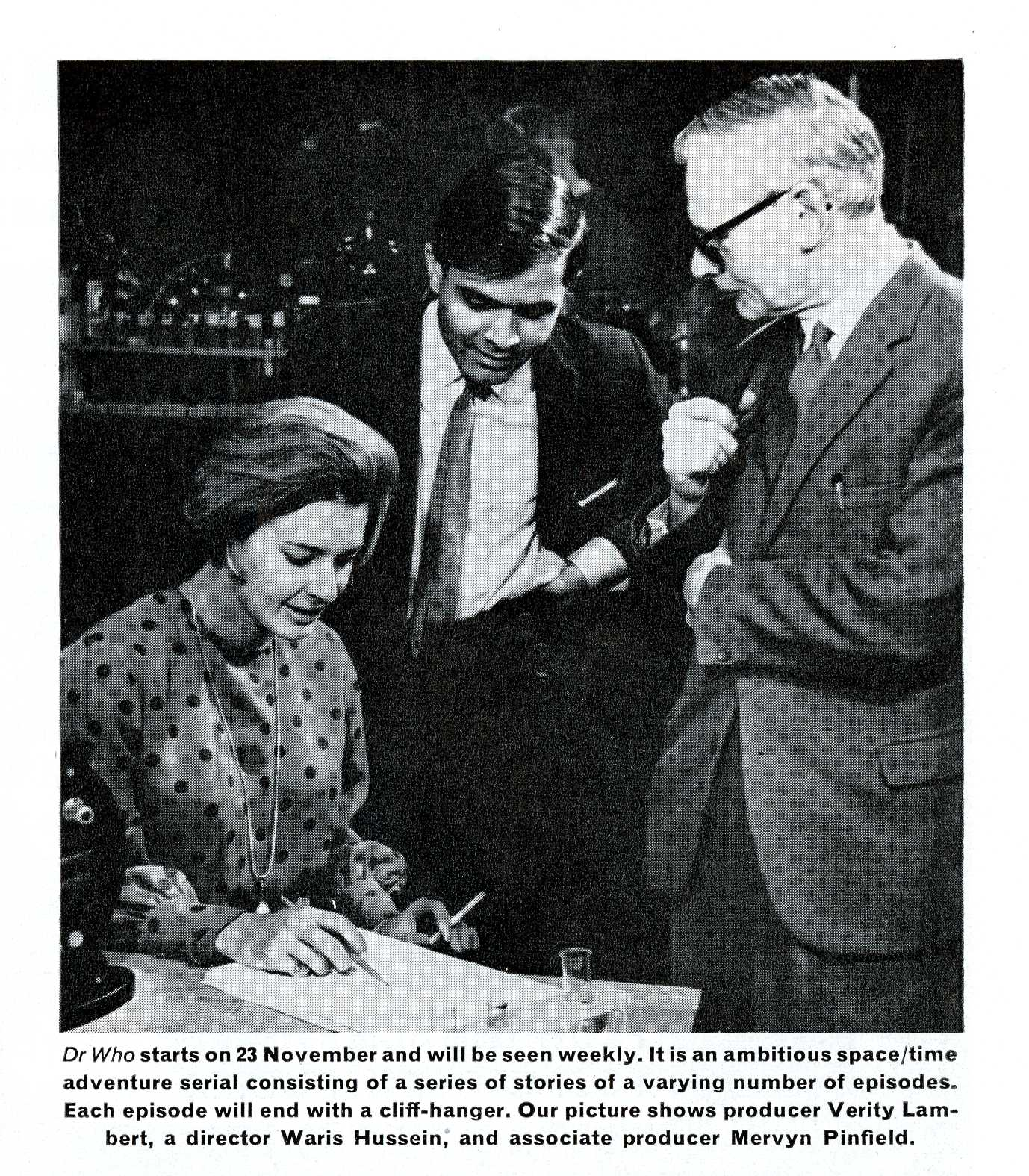 Pre-broadcast media coverage in Ariel, the BBC staff magazine, Vol 8, No 11, 24 October 1963