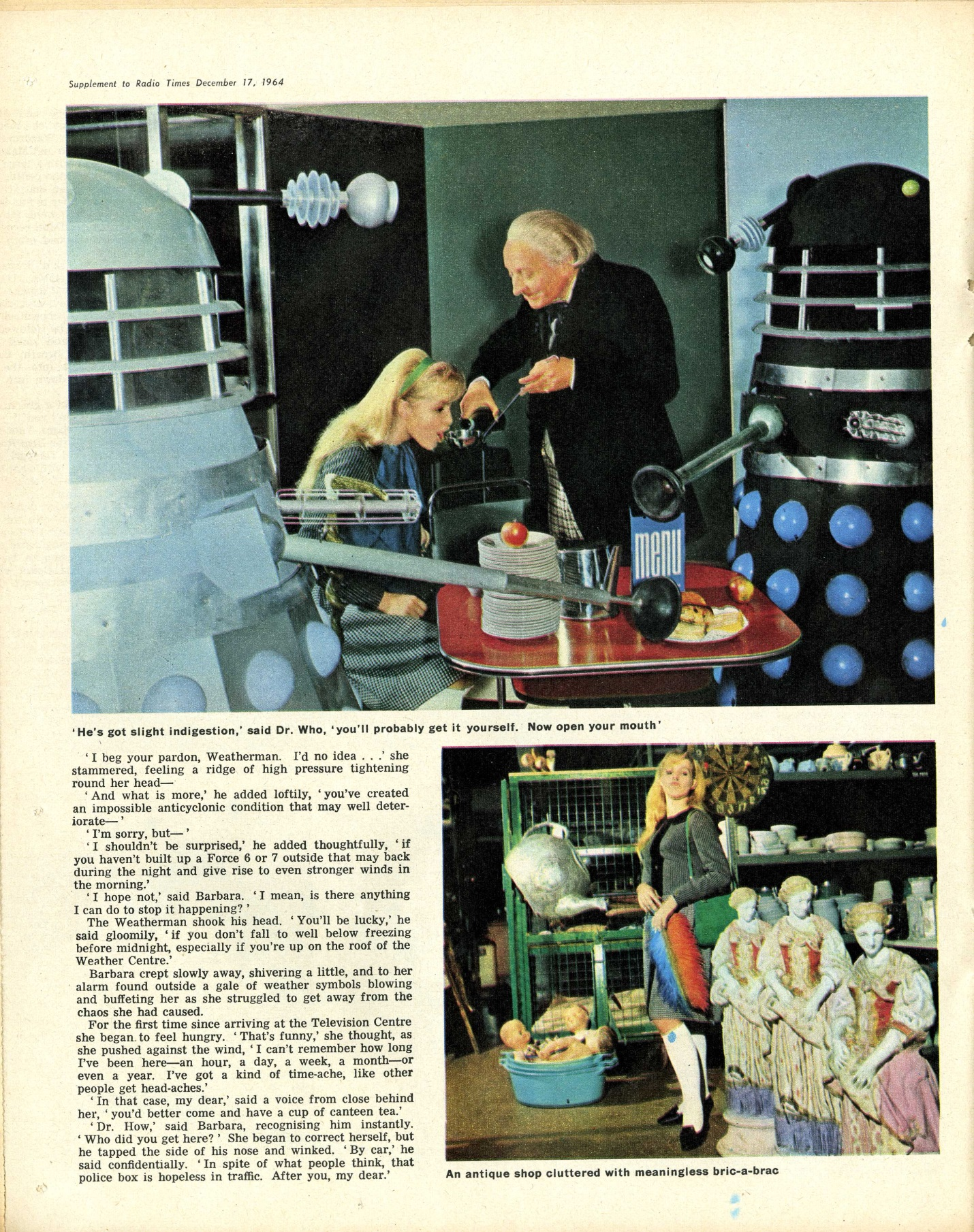 Radio Times. Supplement to the Christmas Radio Times, 19-26 December 1964