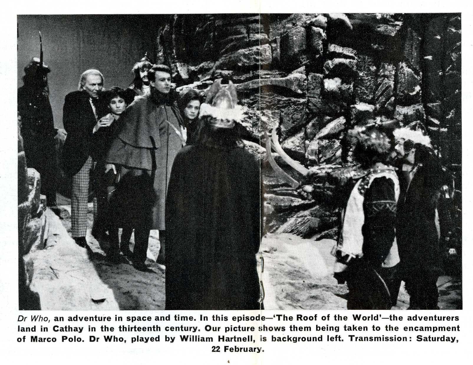 Ariel, Marco Polo photograph, February 1964