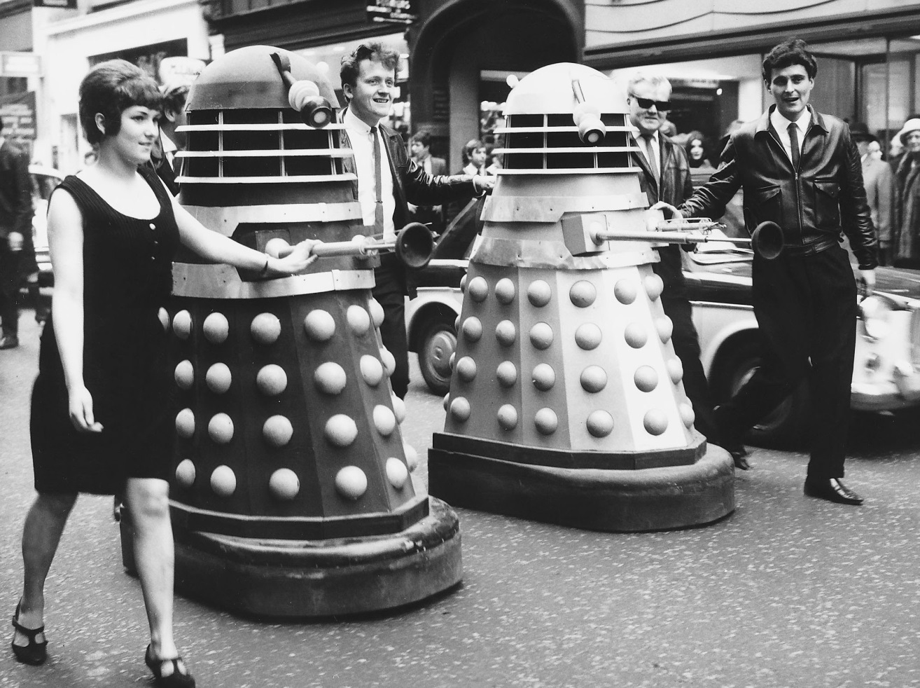 The Go-Go's, I'm Gonna Spend My Christmas With A Dalek press call, Daily Mirror