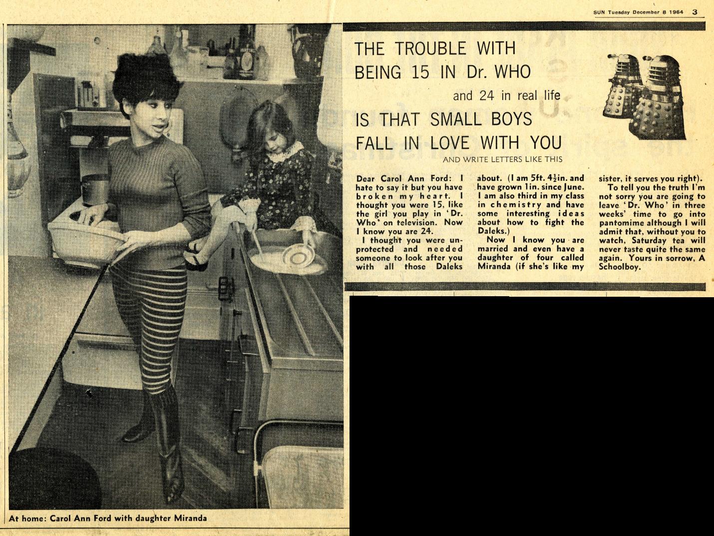 The Sun, 6 December 1964