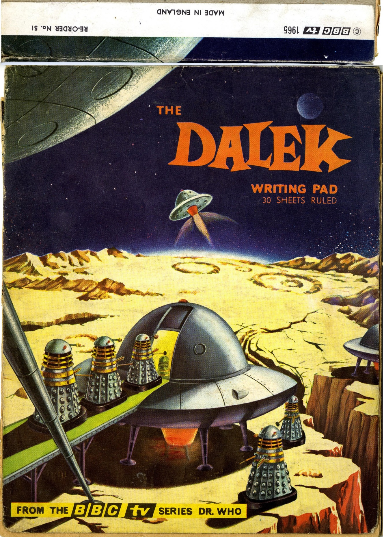 Newton Mills Ltd., Waldorf Division, Dalek writing pad