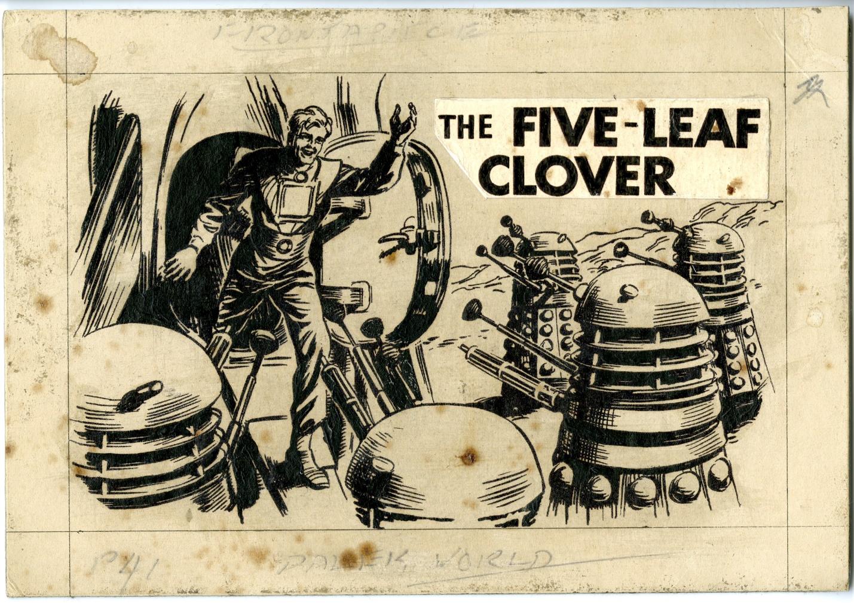 Original artwork from The Dalek World