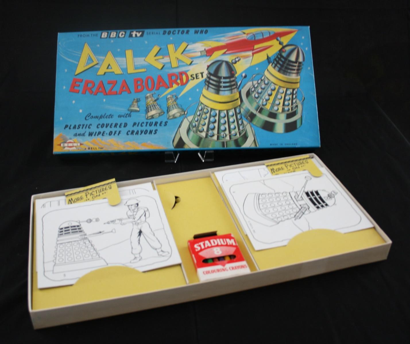 Bell Toys Ltd., Dalek Eraza-Board Set (boxed version)