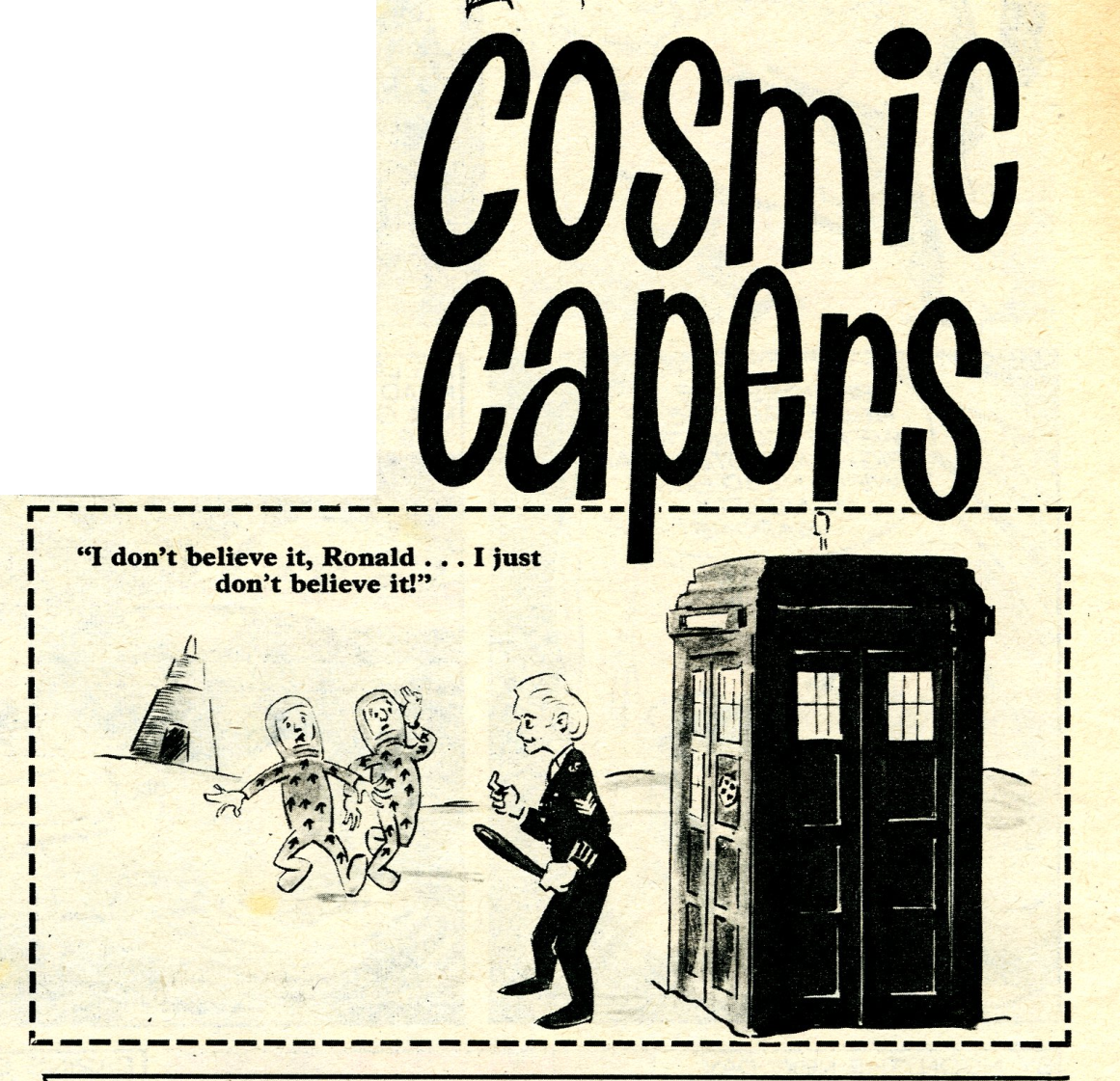 Doctor Who cartoon in TV Century 21 #32