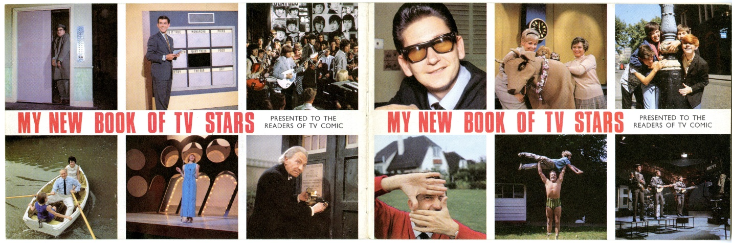 My New Book of TV Stars 1965, presented free with TV Comic