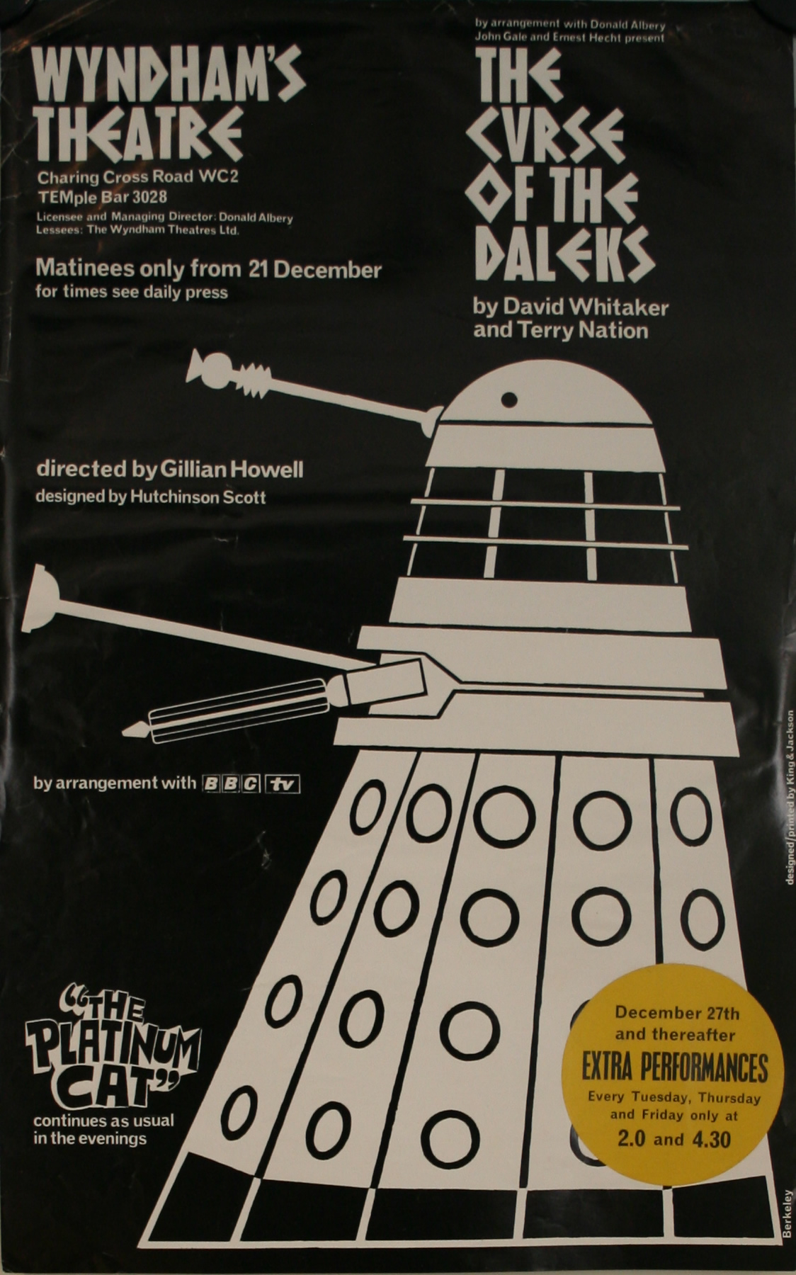 The Curse of the Daleks advertising poster