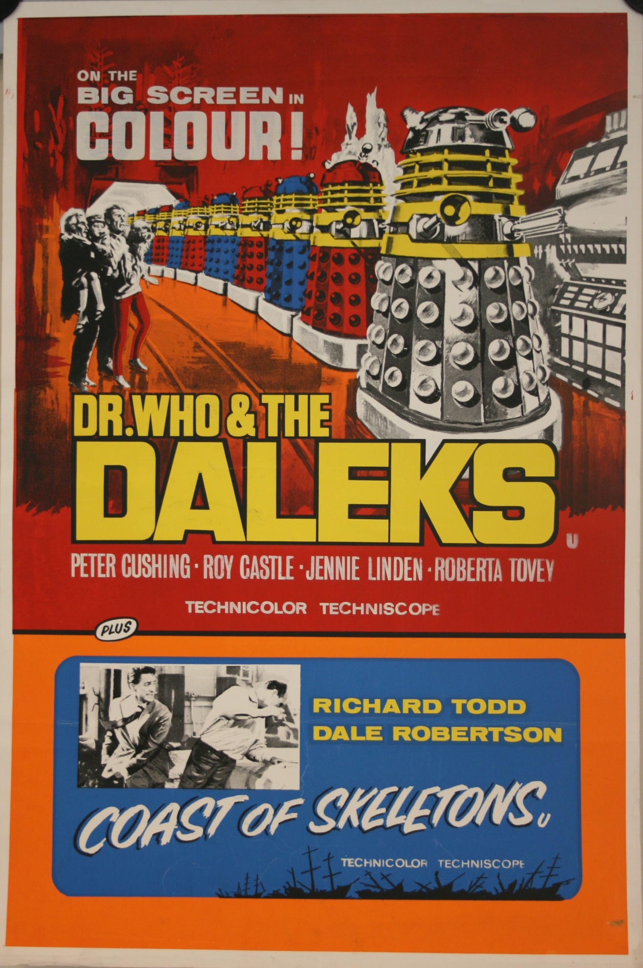 UK Double Bill One-Sheet Poster