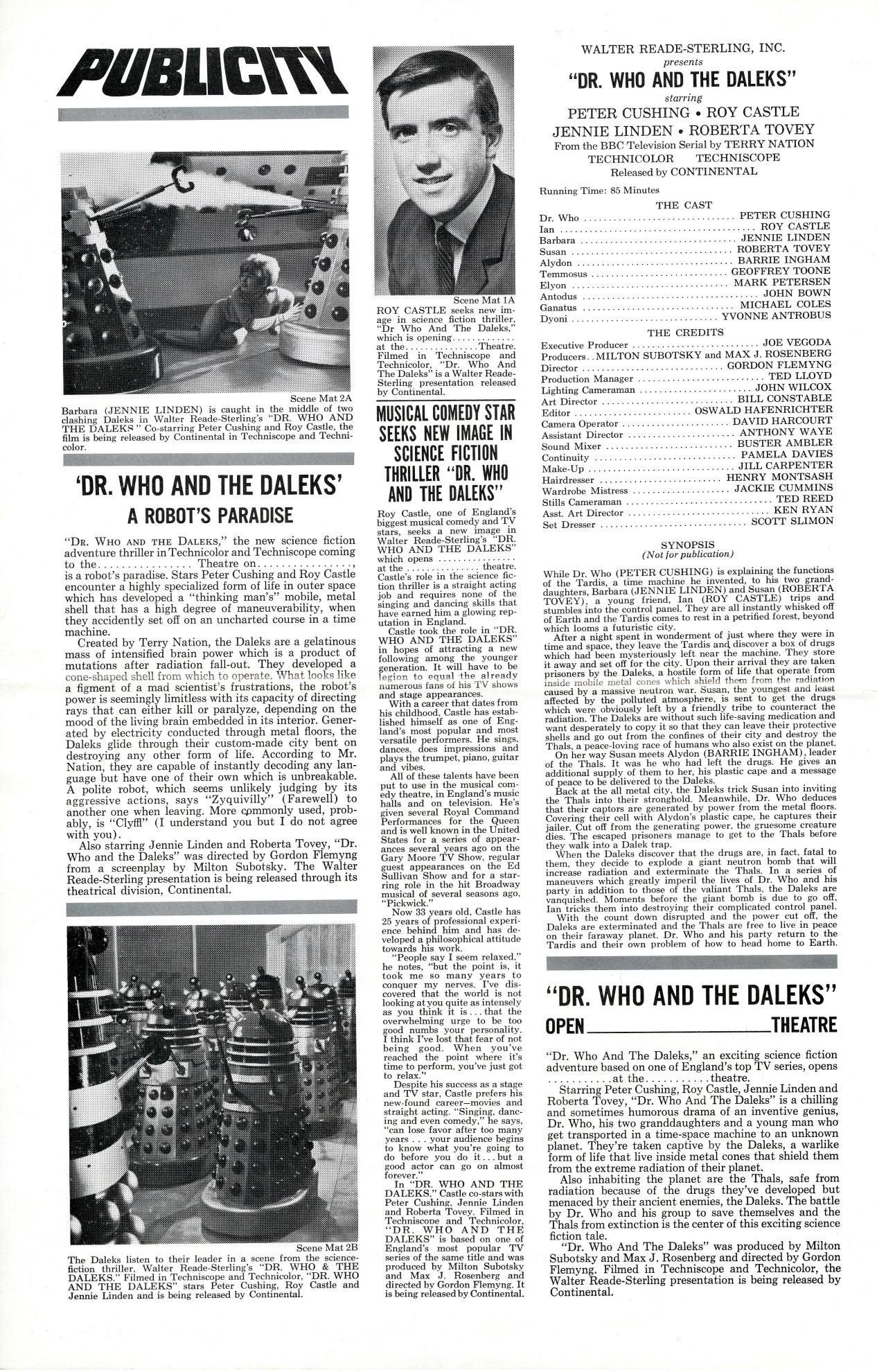 Continental Showmanship Press Book p.2, USA