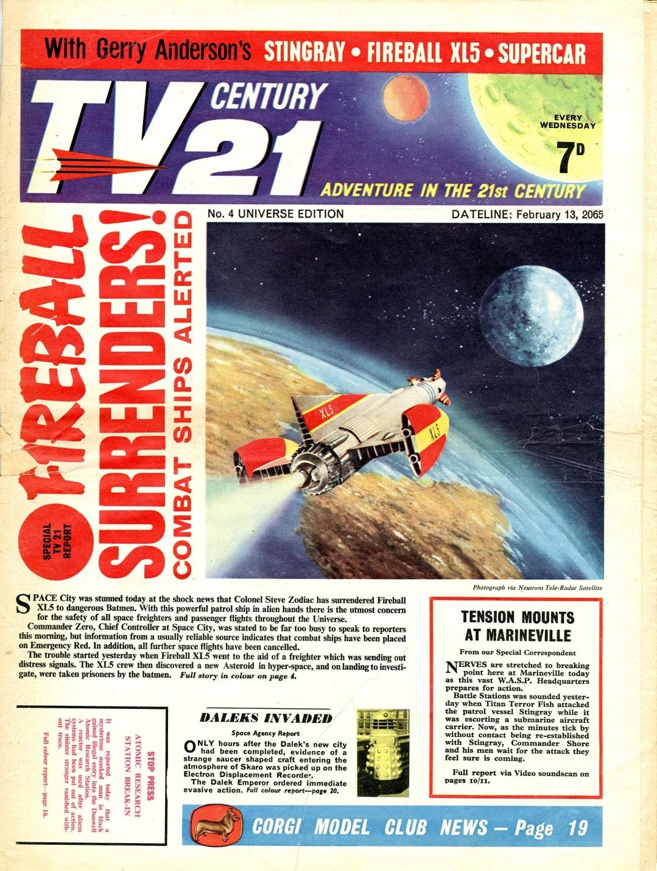 TV Century 21 #4, February 13, 2065 (1965)