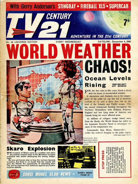 TV Century 21 #46, December 4, 2065 (1965)