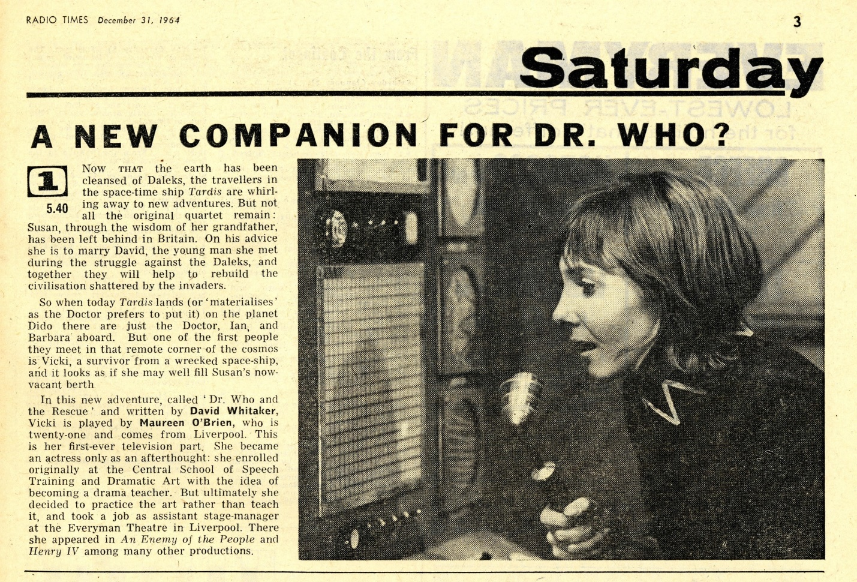 Radio Times, January 2-8, 1965