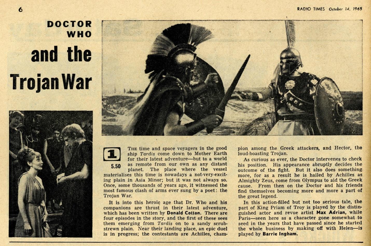 Radio Times, October 16-22, 1965