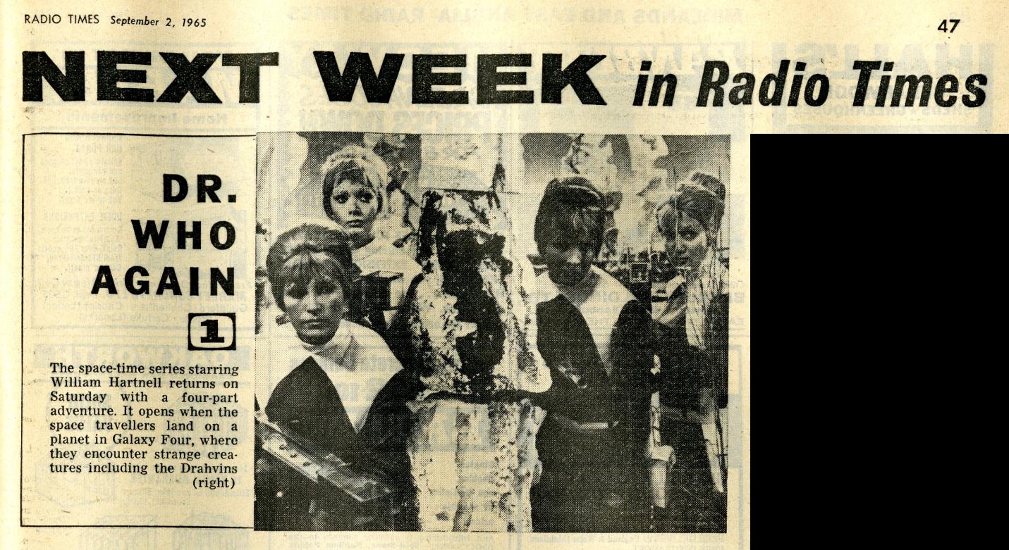 Radio Times, September 4-10, 1965