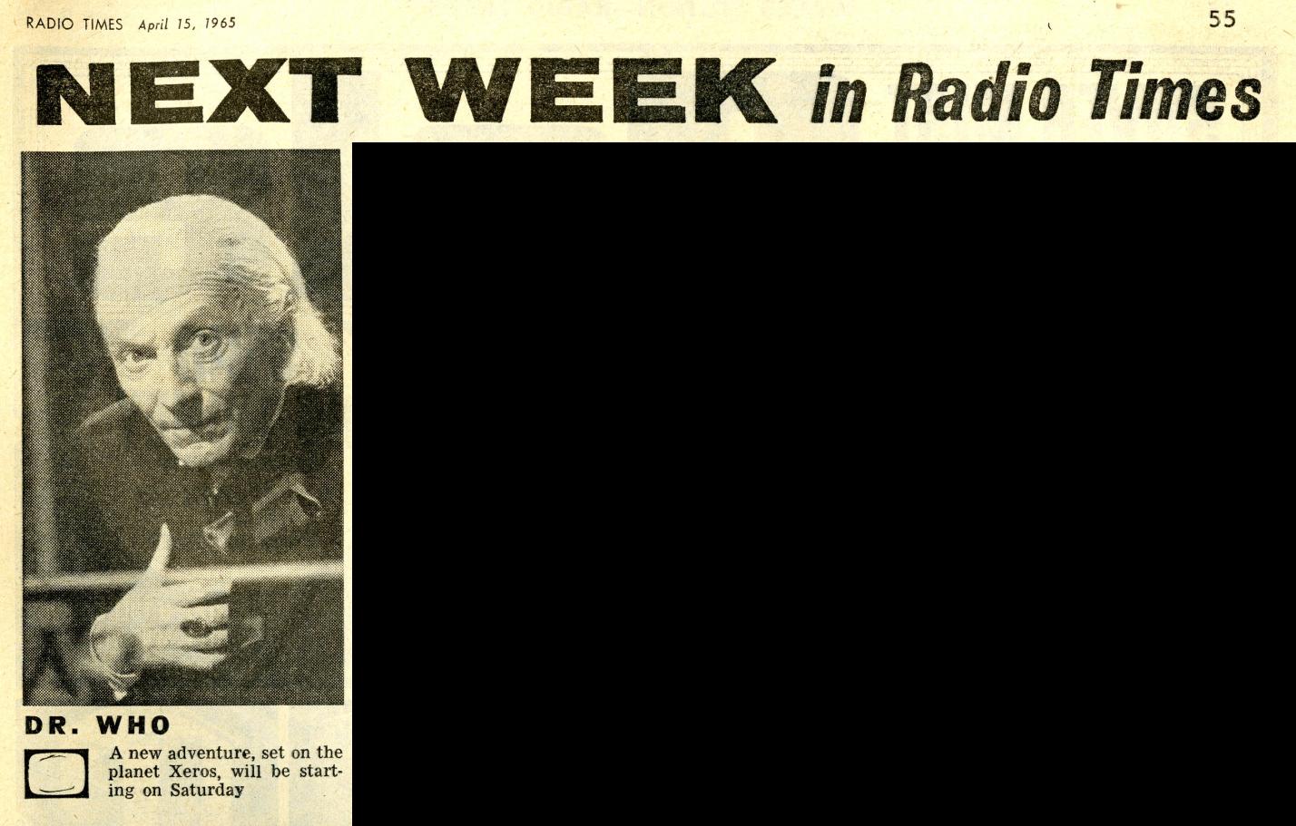 Radio Times, April 17-23, 1965