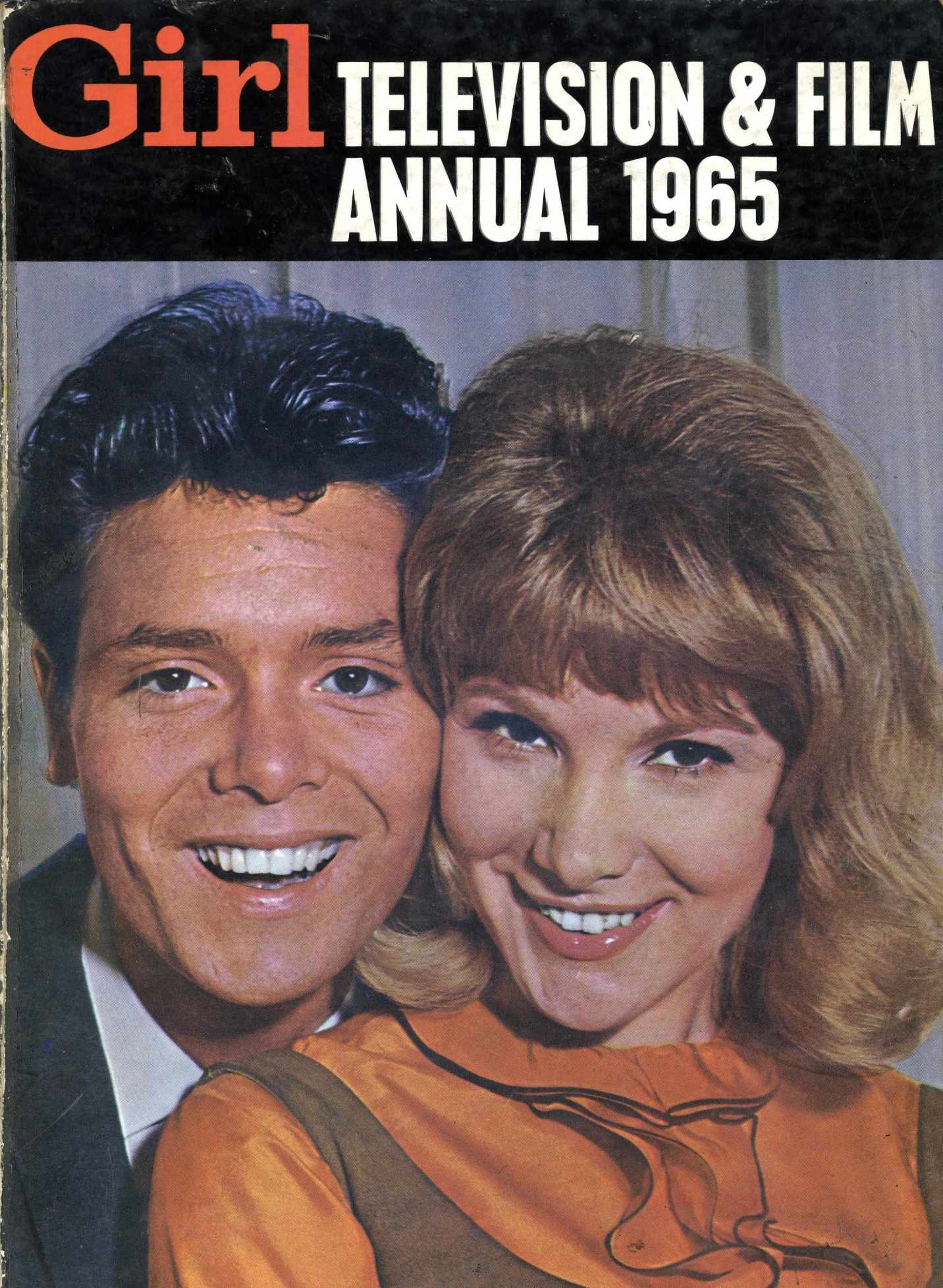 Cover of Girl Film and Television Annual 1965, Odhams Books Ltd., (published 1964)
