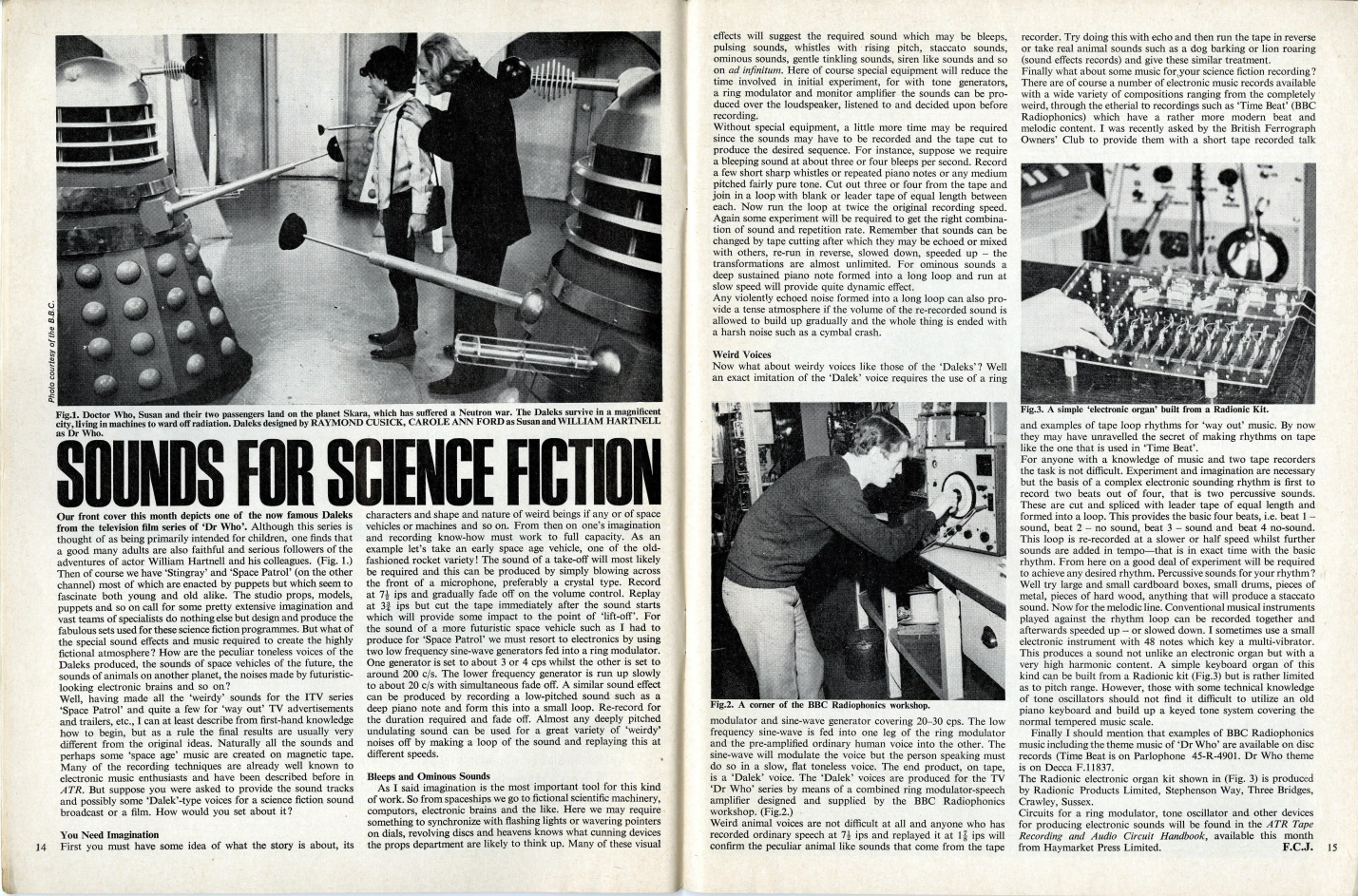 Article in Amateur Tape Recording, October 1965