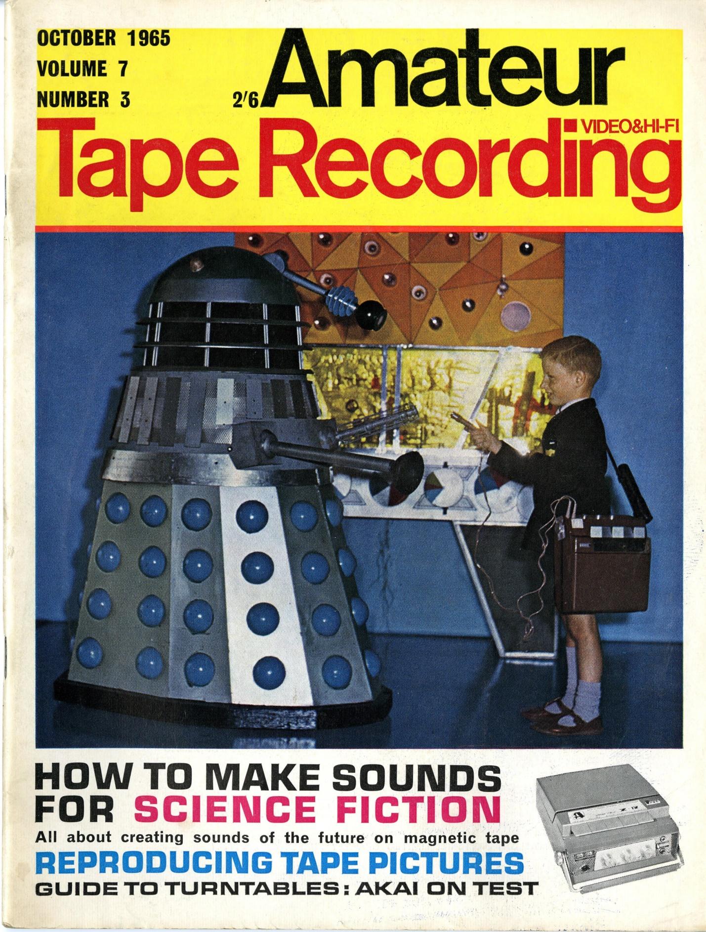 Amateur Tape Recording, October 1965