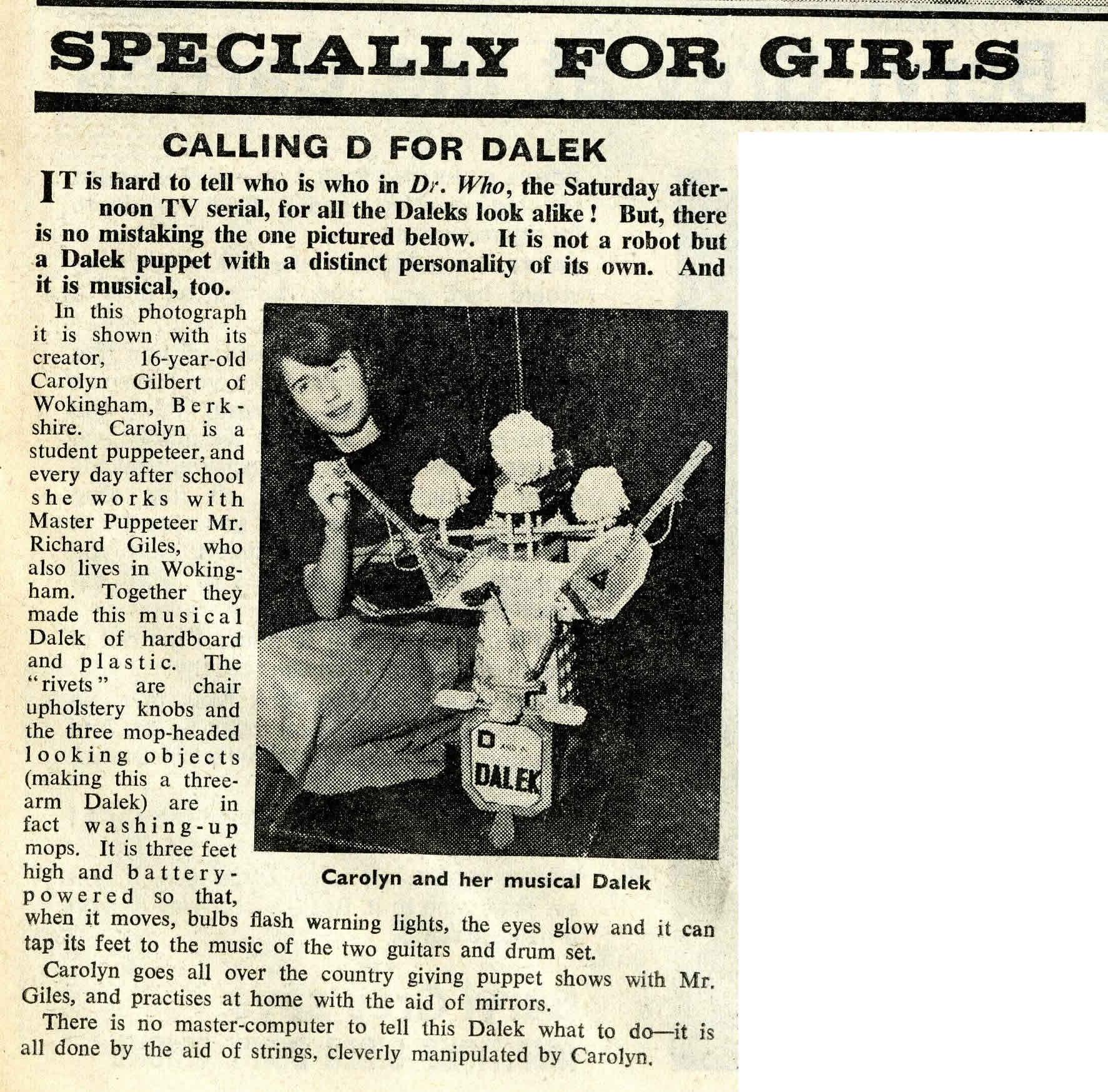 Arthur Mee's Children's Newspaper, January 30, 1965