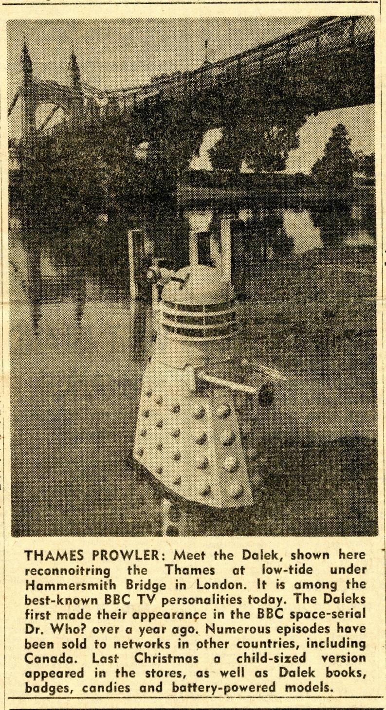 The Gazette, Quebec, Canada, August 23, 1965