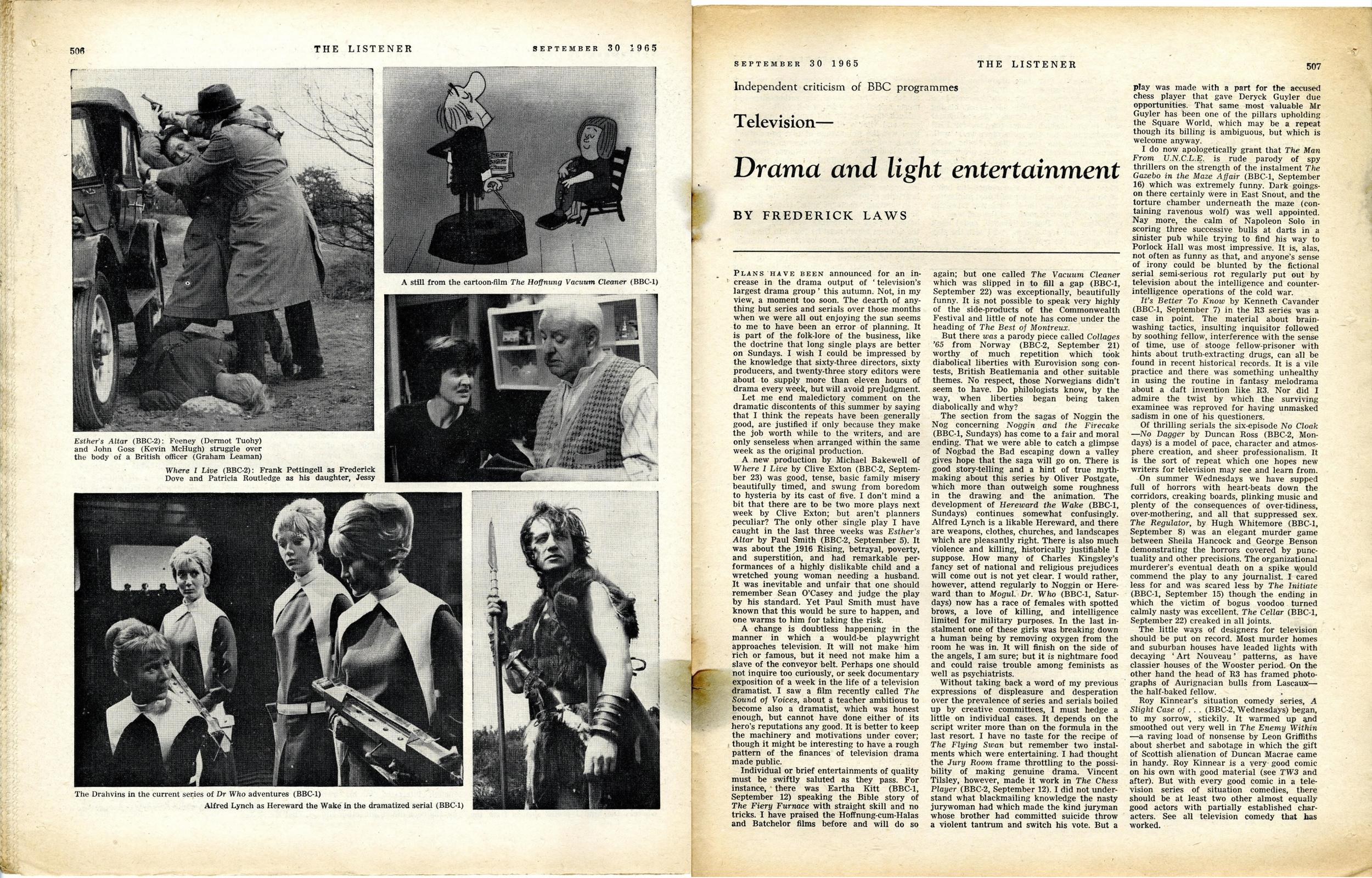 The Listener, September 30, 1965