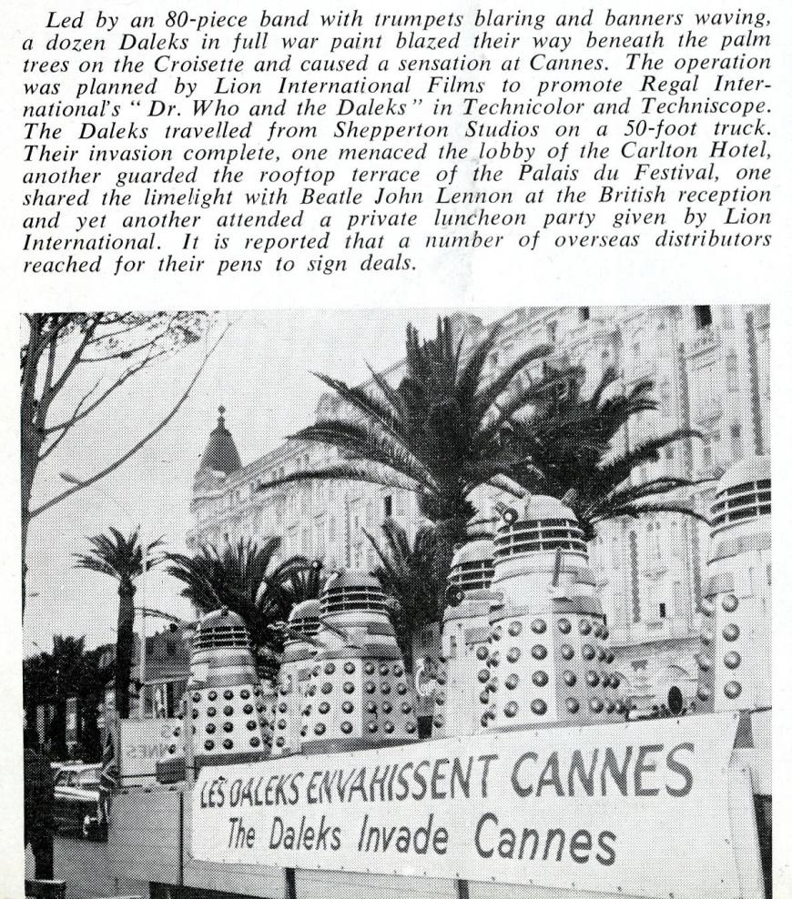 Daily Cinema, 2 June 1965