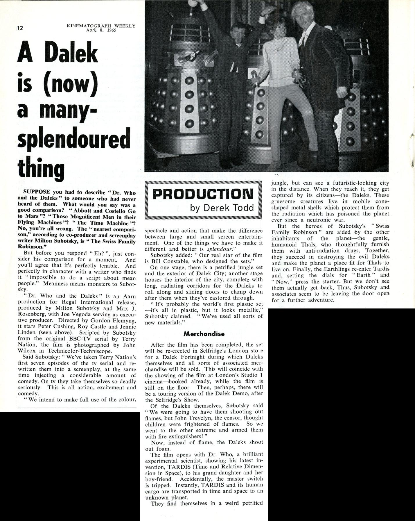 Kine Weekly, 8 April 1965