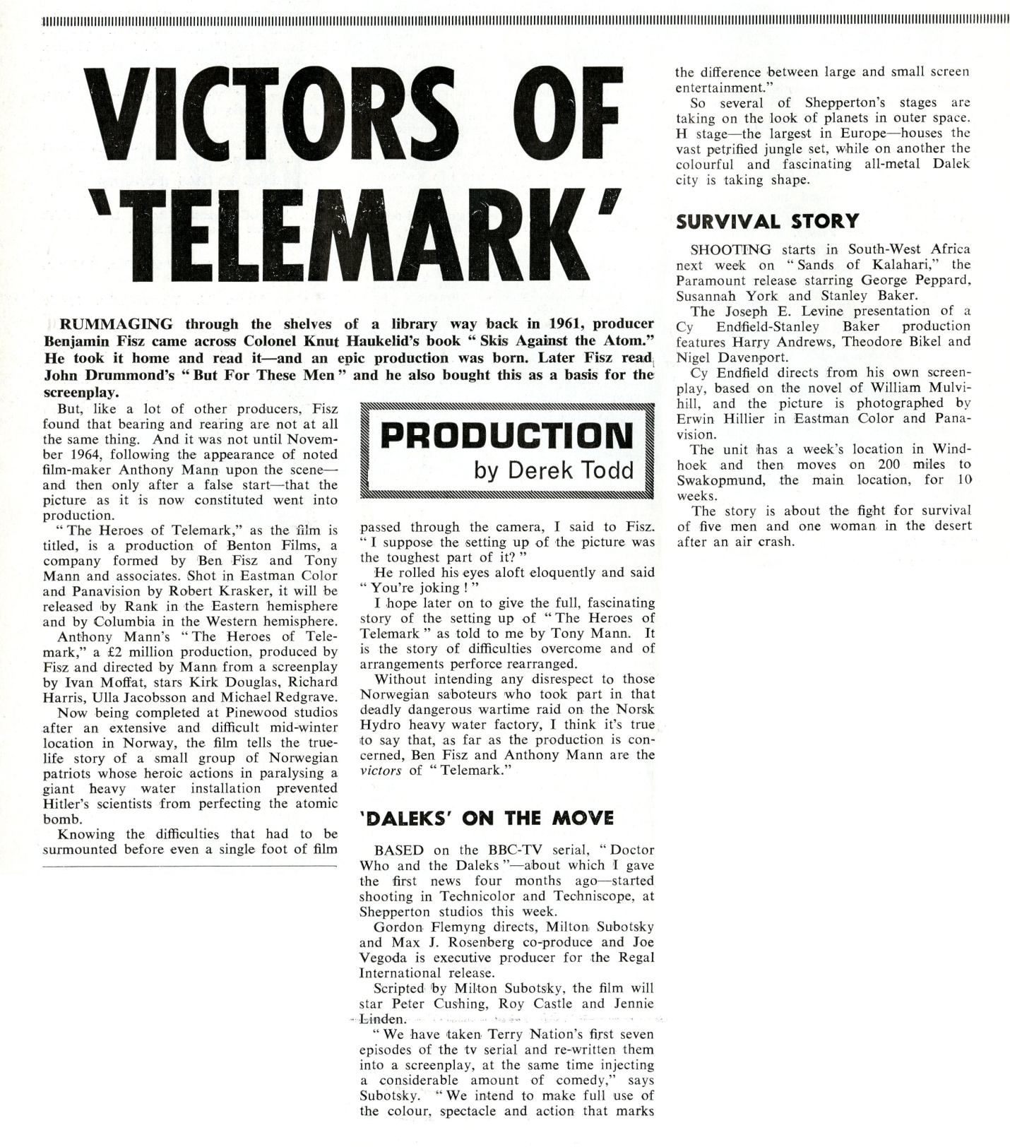 Kine Weekly, 11 March 1965