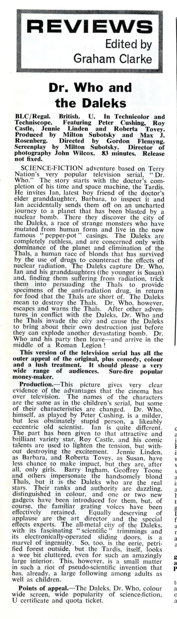 Kine Weekly, 24 June 1965