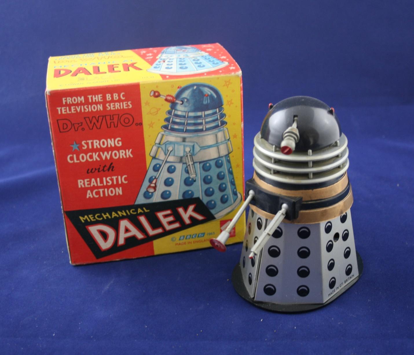 Codeg Toys, Black Mechanical Dalek, from Cowan, de Groot