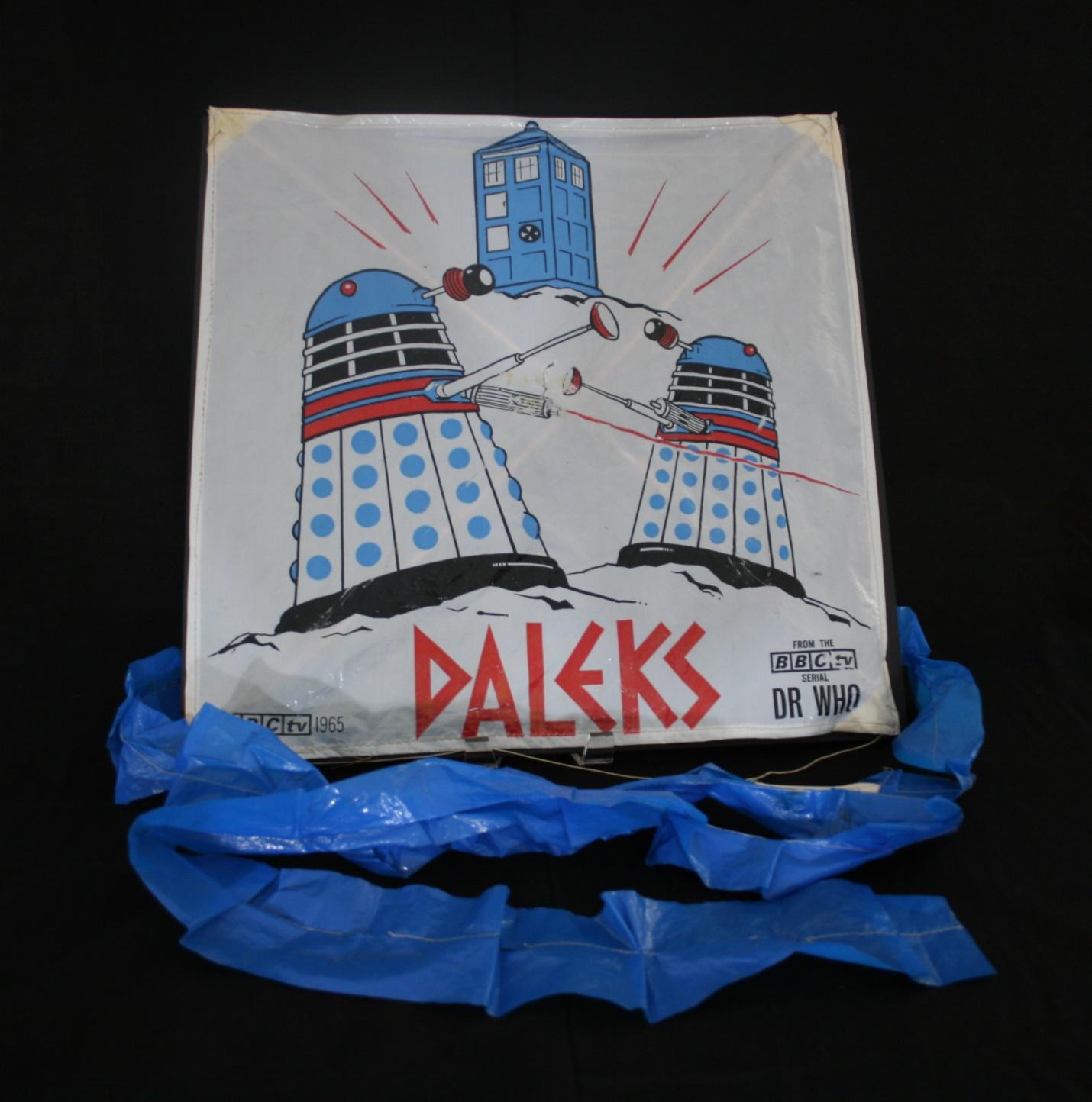 Bowman Jenkins Ltd., polythene Dalek kite